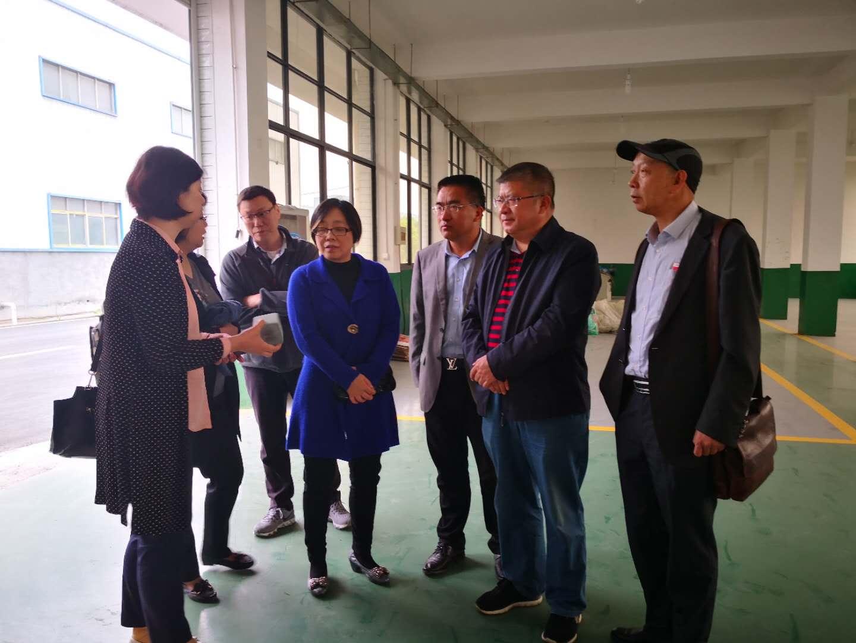 中国建筑材料科学研究总院副院长颜碧兰莅临萍乡指导工作