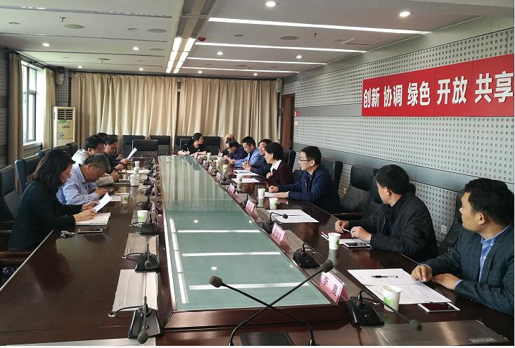 萍乡市政府副市长肖双燕带队赴省科技厅联系工作