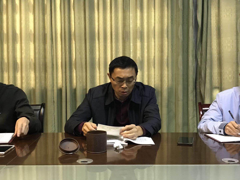 不忘合作初心 继续携手前进 ――市科技局局长刘运成做专题授课